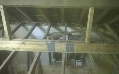 Strengthening Ceiling Joists