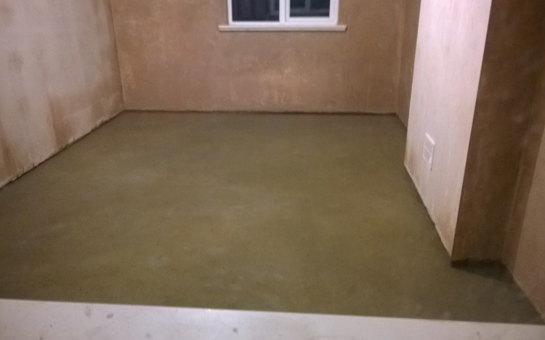 Floor Screed & Tanking Membrane